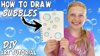 Download Learn to Paint Perfect Bubbles || Art with Alyssa Video