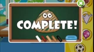 cooking game video-Pou Classroom Slacking