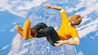 HOW I SURVIVED A 1000 FEET DROP! (GTA 5 Funny Moments)
