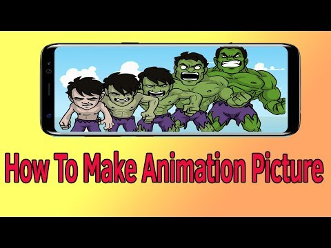 How To Make Animation Picture Helping Mind