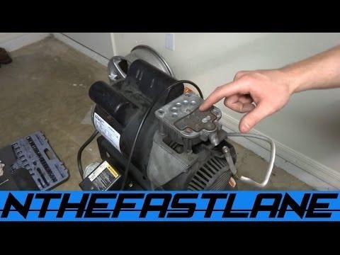Air Compressor Not Building Pressure?!?