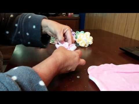 How to make washcloth flowers and suckers
