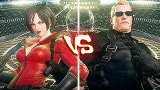 Street Fighter V Pc Ae Mods - Ada Wong Vs Wesker