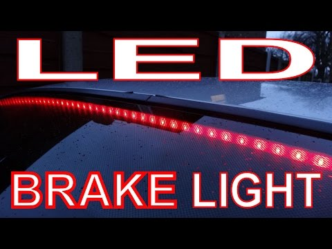 How to make a Bentley Style LED Brake Light