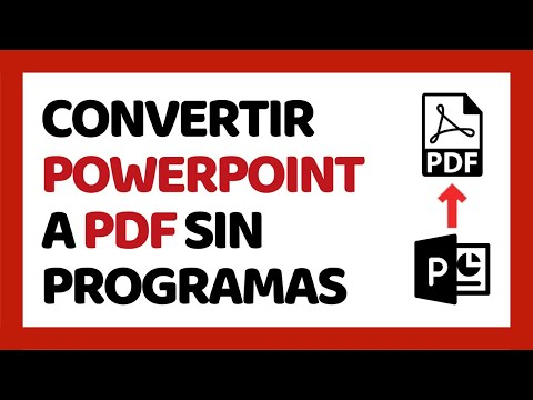 Cómo Convertir PowerPoint a PDF Sin Programas 2018 (Smallpdf) | Cómo Usar PowerPoint 2018