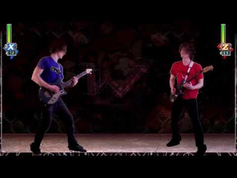 Megaman X5 - X vs Zero Guitar Battle