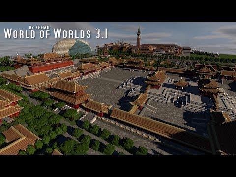 Minecraft | World of Worlds 3.1