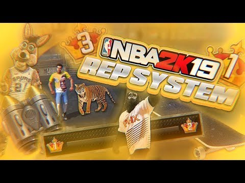 NBA 2K19 REP SYSTEM CHANGES (MASCOTS, TIGERS, JET PACKS)