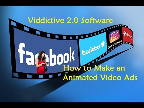 Viddictive 2.0 Software - How to Make an Animated Video Ads