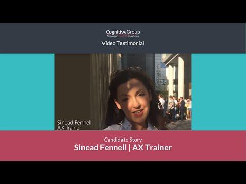 Microsoft Dynamics Jobs   Sinead Fennell's story