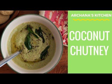 South Indian Coconut Chutney Recipe - Chutney Recipes by Archana's Kitchen