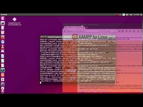 Ubuntu 15.04 - How to Install and Run XAMPP