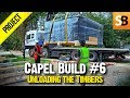 Capel Build #6 - Timber Frame Arrives... Yipee!