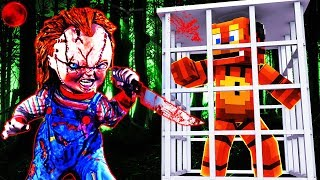 Minecraft - Chucky VS FNAF - Evil Doll KIDNAPS Freddy!