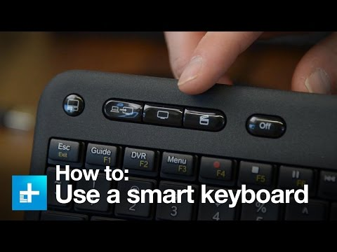 Hands on with the Logitech Harmony Smart Keyboard remote