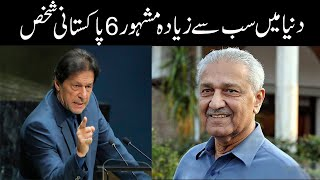 6 Most Famous Person in The World belong to Pakistan