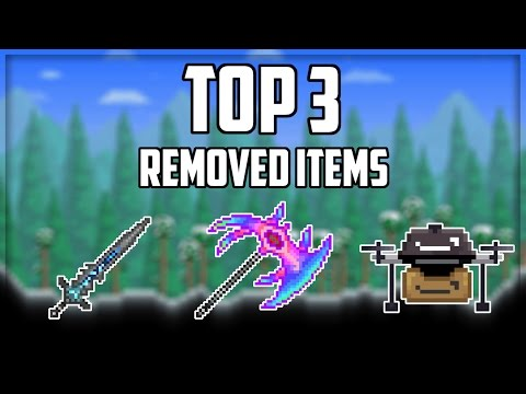 Top 3 Removed Items in Terraria