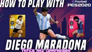 How To Use D.Maradona Perfectly in PES20   TUTORIAL   MUTANT GAMING