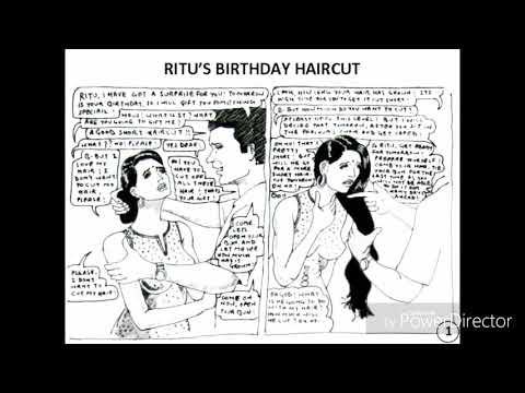 Ritu's haircut : a haircut story