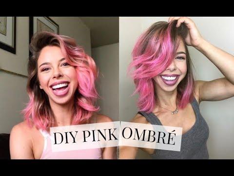 DIY Pink Ombré