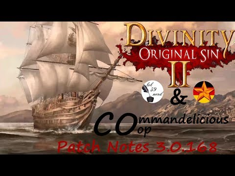Divinity Original Sin 2 SPECIAL - Patch Notes 3.0.168