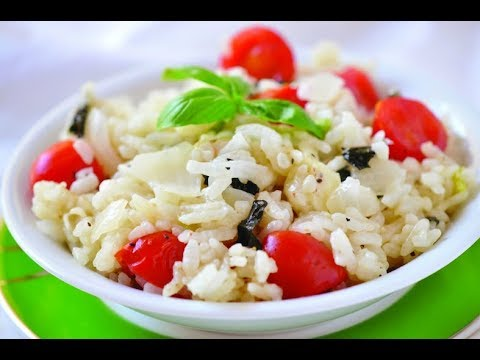 NO STIR Easy Oven Baked Risotto Recipe