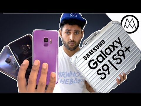 Samsung Galaxy S9 & S9+ UNBOXING!