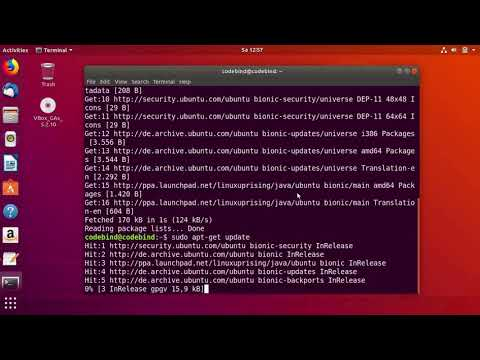 How to install Java JDK 10 on Ubuntu 18.04 LTS (Debian Linux)