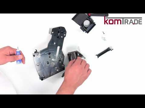 Miele CM6xxx Brüheinheit/Brühgruppe reparieren-revidieren-überholen Reparaturanleitung