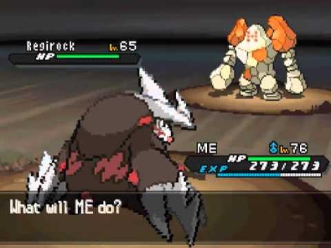 Pokemon Black & White 2: How to catch Regirock & Registeel (Black 2)