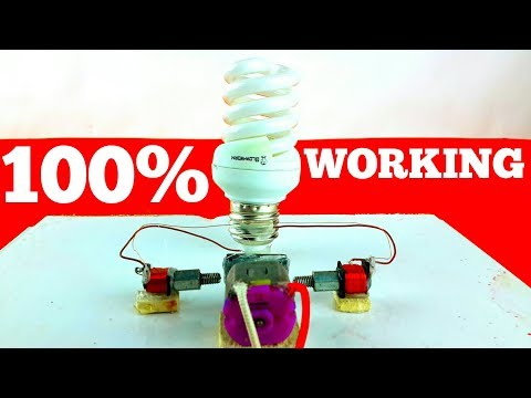 How to Make a Mini Energy Generator School Project