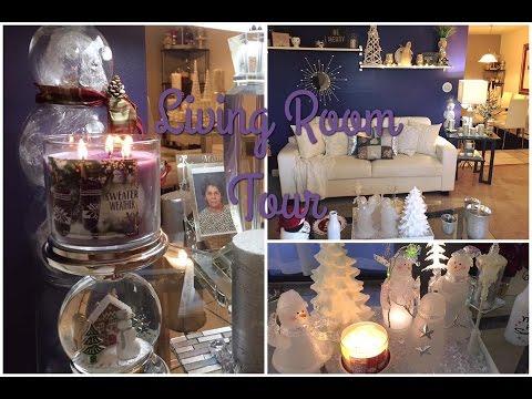 Christmas Livingroom Tour | 2016