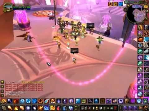 Horde raid at Exodar