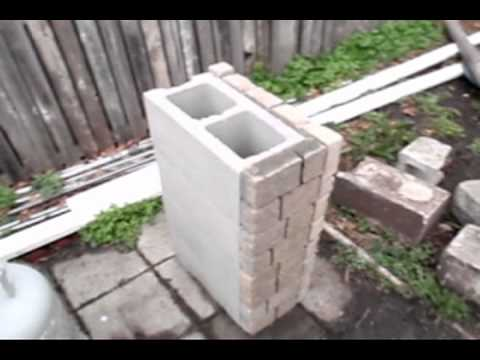 How to build a stone grill