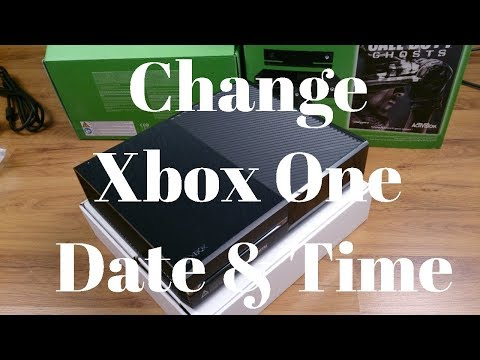 How to Change Xbox One Date & Time UPDATED!