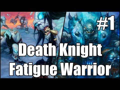 [Hearthstone] Death Knight Fatigue Warrior (Part 1)