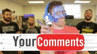SONIC BLUE-FACE? - Funhaus Comments #89