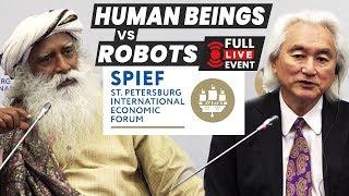Technologies of the Future | Sadhguru and Michio kaku (2018) LIVE from Russia