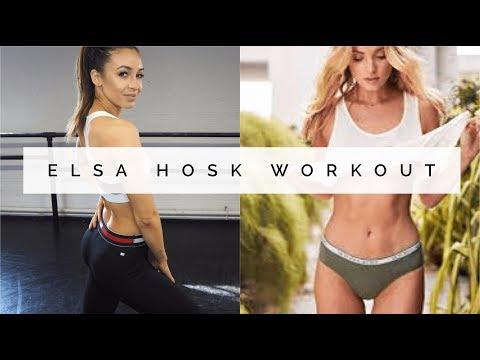 VICTORIA'S SECRET MODEL WORKOUT | ELSA HOSK | Danielle Peazer