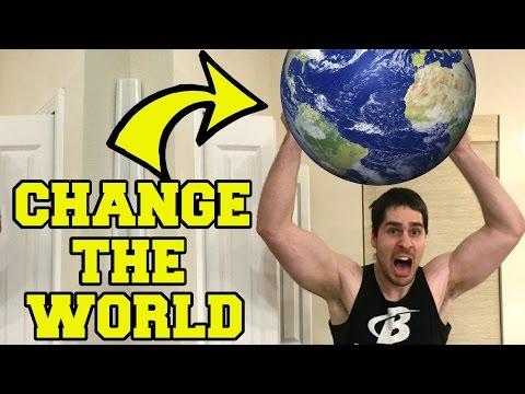 BE YOURSELF!!! #ChangeTheWorld