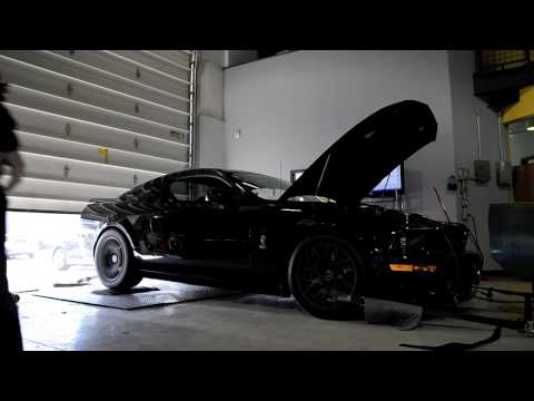 2008 SHELBY GT500 DYNO