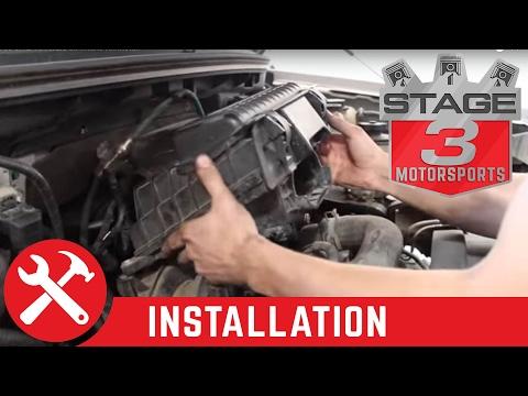 2004-2008 F-150 5.4L V8 Airaid Jr. Intake Kit Install