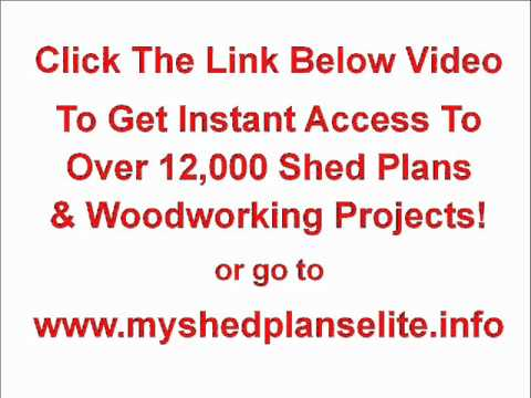 My Shed Plans Elite - 12,000 Shed Plans and Projects