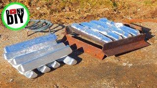 Melting Aluminium In The Mini Metal Foundry - Melting Aluminum #1