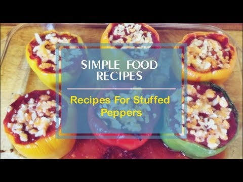 Recipes For Stuffed Peppers