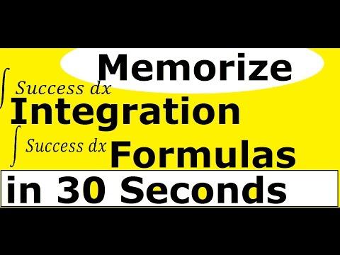 Integration Shortcut for Formulas ! [ IIT JEE Maths Tricks ] in Hindi
