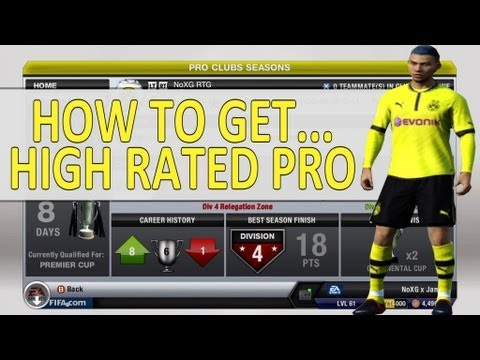 How To Rank Up Your Online Pro Easy (Fifa13 Pro Clubs)