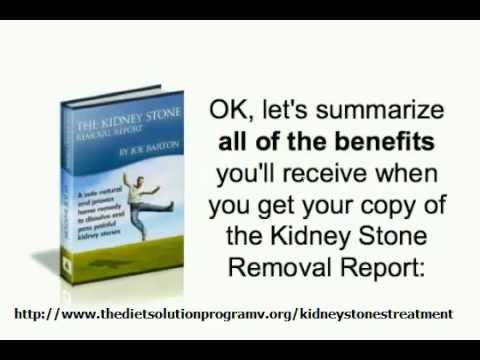 Passing Kidney Stones:Best Home Remedies for Removing Kidney Stones