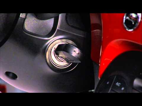 2013 Fiat 500 | Jacking and Tire Changing