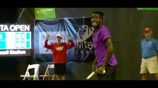 LOUD COUPLE Interrupts Live Tennis Match   What